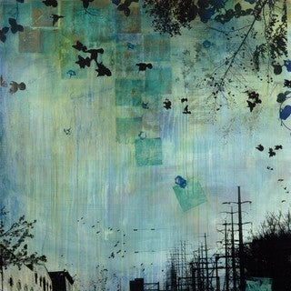 Marmont Hill - 'Electric Power' by Tracy Silva Barbosa Painting Print on Wrapped Canvas