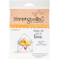 Stamping Bella Cling Stamp 6.5X4.5-Mail Chick