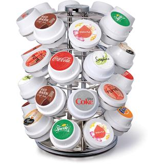 Keurig KOLD Chrome Wire Carousel Pod Storage