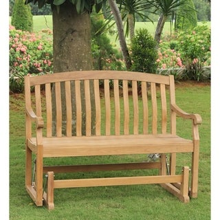 Sherwood Teak Glider Bench