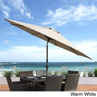 CorLiving UV and Wind Resistant Tilting Patio Umbrella
