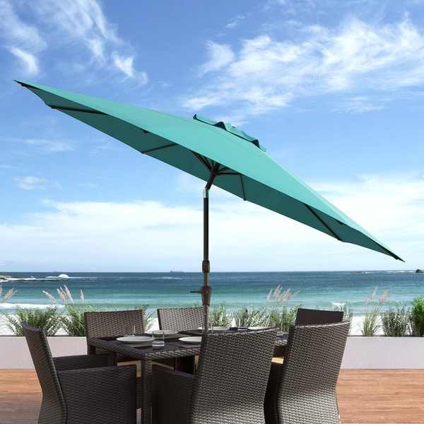 Amazing CorLiving Wind Resistant Tilting Patio Umbrella