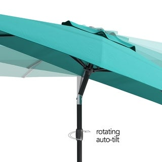 CorLiving UV and Wind Resistant Tilting Patio Umbrella (More options available)