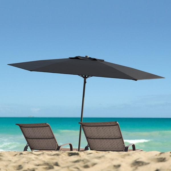 Uv Patio Umbrella: CorLiving UV And Wind Resistant Beach/ Patio Umbrella