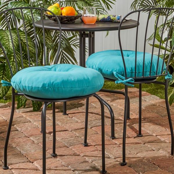 18 Inch Round Outdoor Bistro Chair