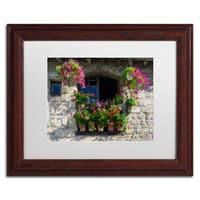 Michael Blanchette Photography 'Window Dressing' Matted Framed Art