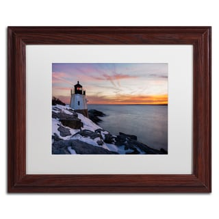Michael Blanchette Photography 'Day's End' Matted Framed Art