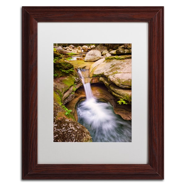 Michael Blanchette Photography 'Sabbaday Punchbowl' Matted Framed Art