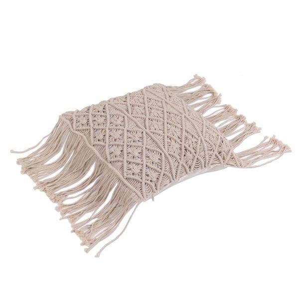 Handmade Cotton Cushion Cover, 'Bali Weave' (Indonesia)