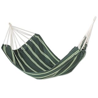 Double Handmade Hammock, 'Laurel Green' (Guatemala)