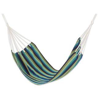 Single Handmade Hammock, 'Cloudy Forest' (Guatemala)