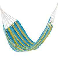 Single Handmade Hammock, 'Happy Day' (Guatemala)