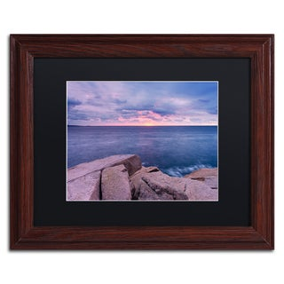 Michael Blanchette Photography 'Earth Water Sky' Matted Framed Art