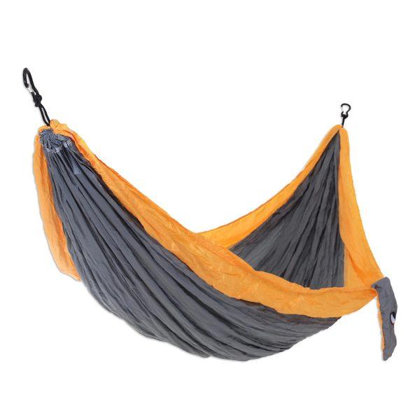 Handmade Double Parachute Hammock, 'Morning Dreams' (Indonesia)