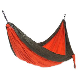 Handmade Single Parachute Hammock, 'Summer Dreams' (Indonesia)