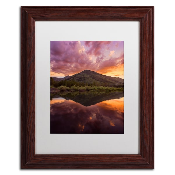 Michael Blanchette Photography 'Glamor in the Sky' Matted Framed Art