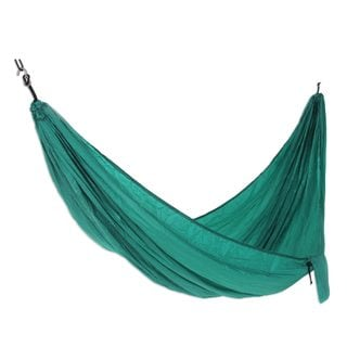 Single Parachute Hammock, 'Uluwatu Jade' (Indonesia)
