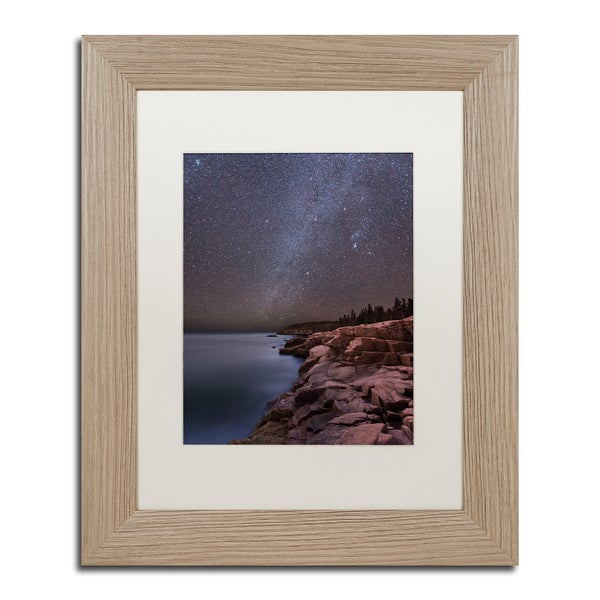 Michael Blanchette Photography 'Night on Granite' Matted Framed Art