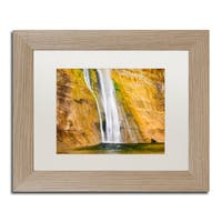 Michael Blanchette Photography 'Ribbons 2' Matted Framed Art