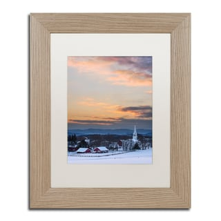 Michael Blanchette Photography 'Morning Glow' Matted Framed Art