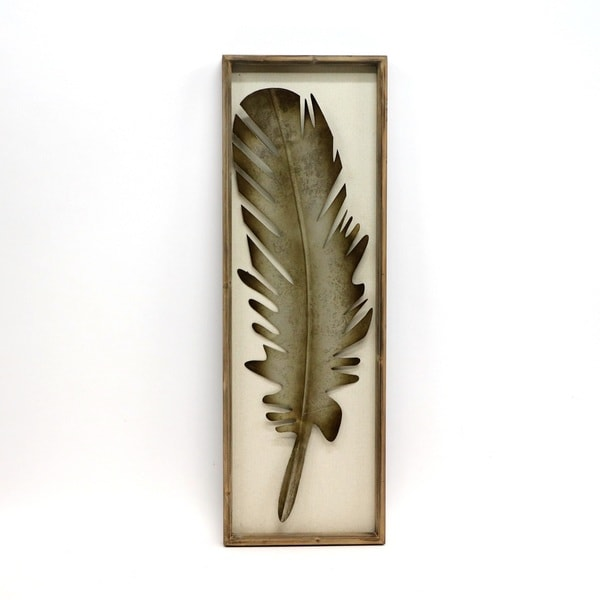 X27 Silver Colored Metallic Feather