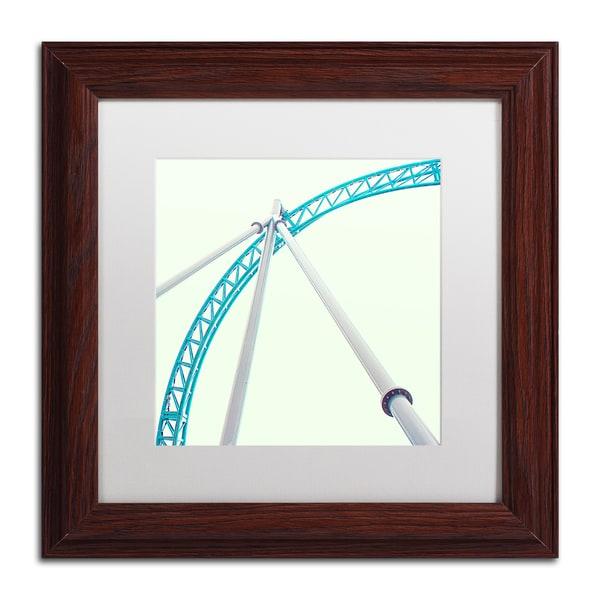 Matt Crump 'Coaster Corners' Matted Framed Art