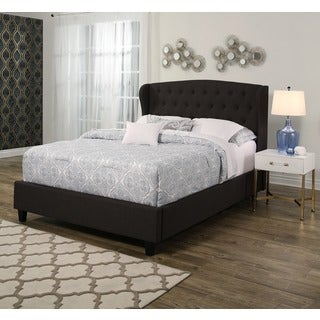 ABBYSON Vivian Tufted Upholstery Platform Bed
