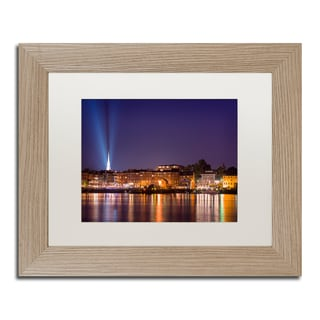 Michael Blanchette Photography 'Waterfront' Matted Framed Art