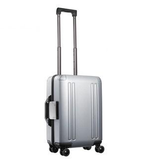 Zero Halliburton ZRO 22-inch Silver Domestic Carry On Hardisde 4 Wheel Spinner Suitcase