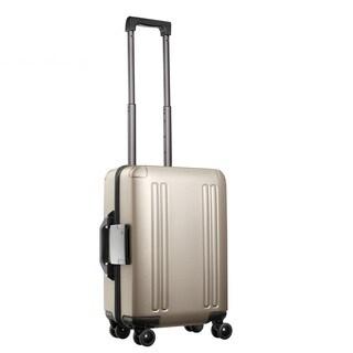 Zero Halliburton ZRO 28-inch Gold Hardside 4 Wheel Spinner Suitcase