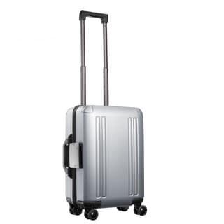 Zero Halliburton ZRO 25-inch Silver Hardside 4 Wheel Spinner Suitcase