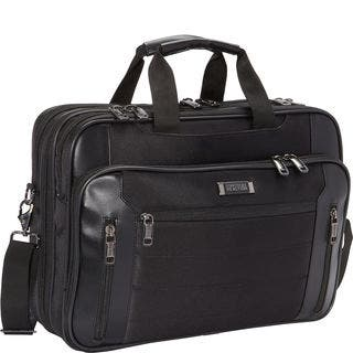 Kenneth Cole Reaction Black Top Zip 17.3-inch Laptop Case|https://ak1.ostkcdn.com/images/products/14446395/P21010253.jpg?impolicy=medium