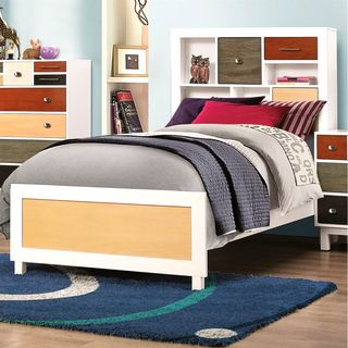 Madison Storage Headboard Multi-Colored Bed