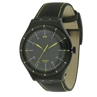 "Swatch ""Black Bliss"" Men's Watch YWB100"