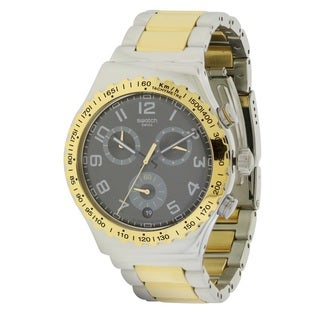 "Swatch ""Golden Youth"" Men's Watch YVS427G"