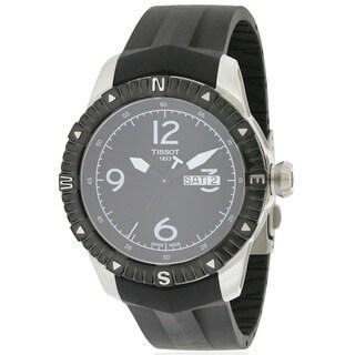 Tissot Navigator Automatic Men's Black Stainless Steel Watch