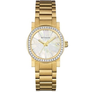 "Wittnauer ""Adele"" Gold-Tone Stainless Steel Women's Watch WN4002"