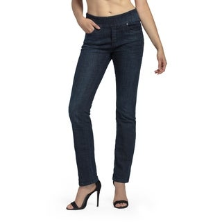 Bluberry Women's Evelyn Straight-leg Denim Pants (3 options available)