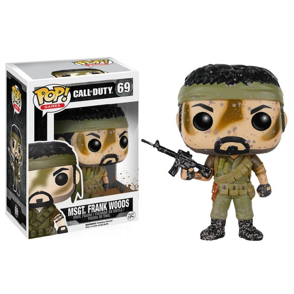Funko POP Call Of Duty Woods Vinyl Figure