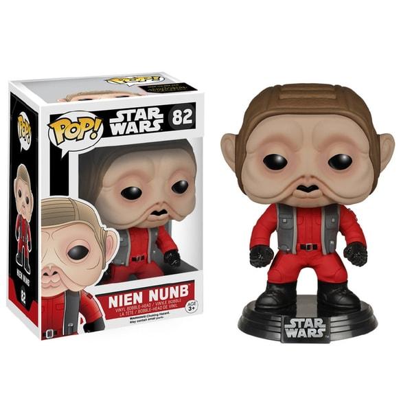 Funko POP Star Wars The Force Awakens Nien Nunb Vinyl Figure