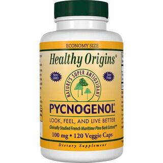 Healthy Origins Pycnogenol 100 mg (120 Veggie Capsules)