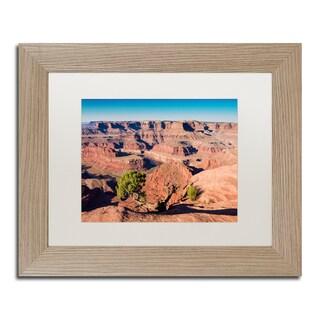Michael Blanchette Photography 'Canyonlands Sunrise' Matted Framed Art