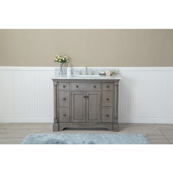 stella 42inch double bathroom vanity set