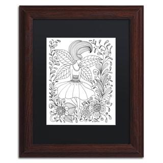 KCDoodleArt 'Fairy 10' Matted Framed Art