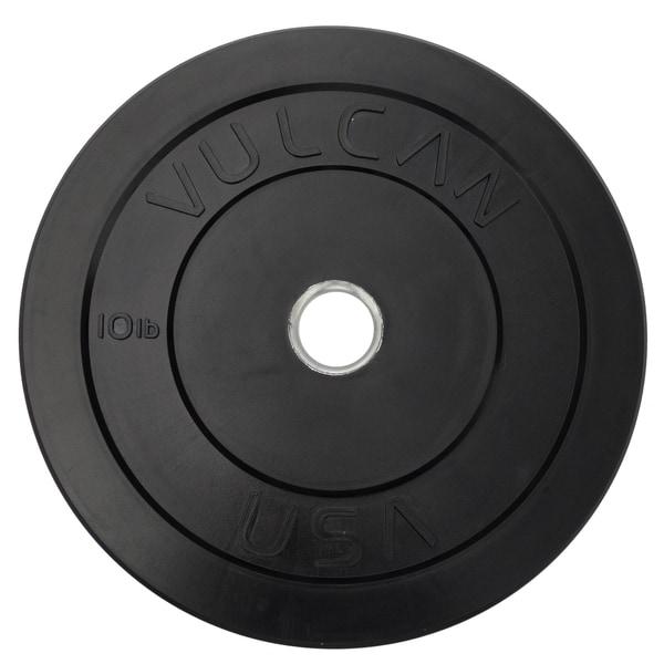 10 lb Black Bumper Plate Pair