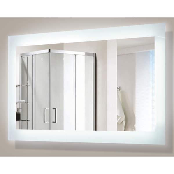 Shop Encore Led Illuminated Bathroom Mirror Free Shipping Today