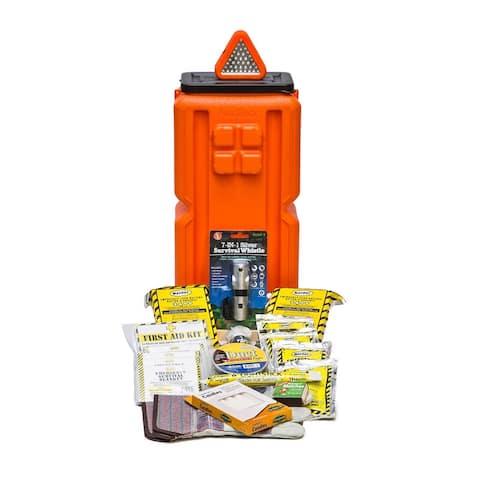 Emergency Survival Storage Container - Orange