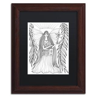 KCDoodleArt 'Fairy 15' Matted Framed Art