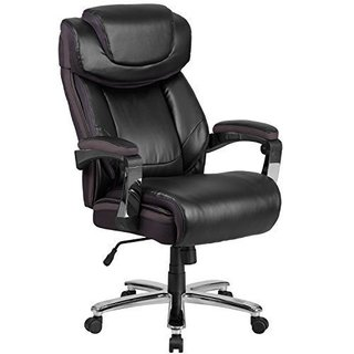 Big and Tall Black Leather Chair (Option: Brown Finish)|https://ak1.ostkcdn.com/images/products/14449162/P21012620.jpg?_ostk_perf_=percv&impolicy=medium
