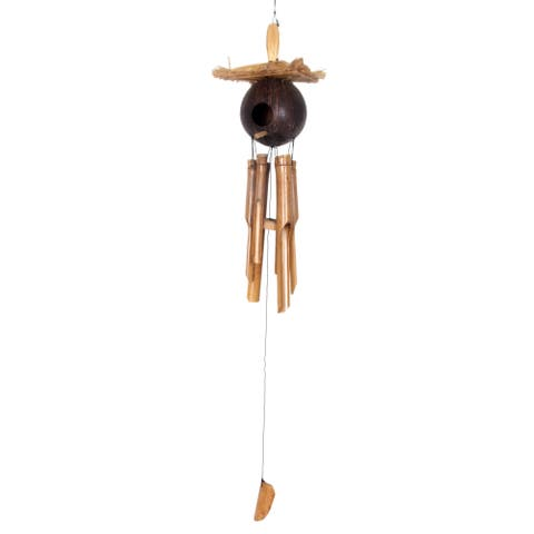 Handmade Padang Jungle Home Wind Chime (Indonesia)